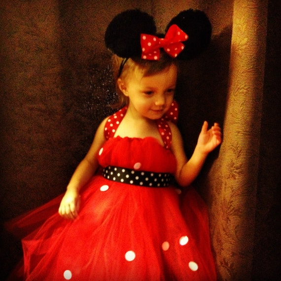 items similar to minnie mouse toddler tutu costume polka