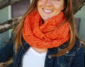 Made to Order - Crocheted Chunky Infinity Scarf
