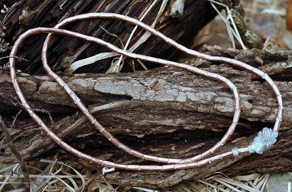 Copper Bead Necklace from Ethiopia
