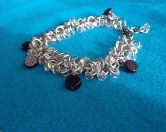 Starry Night Chainmaille Bracelet