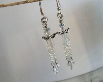 Swaorvski Angel Earirngs