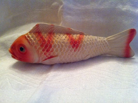 Antique Celluloid Koi Fish