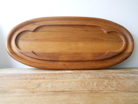 Dansk International Designs Oval Teak Tray
