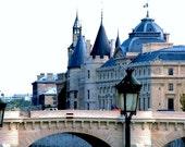 Paris Photography- La Conciergerie In Paris, France- Landscape, European, French, Architectural, Historic, Parisian,  Fine Art Photography
