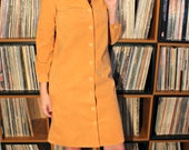1970s Mary Tyler Moore Button-up Dress