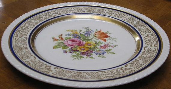 & Johnson Brothers Old English Plate in the Chadwell Pattern