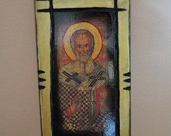 Saint Nicholas, Icon.Unique Religious Art and Gifts for Your Special Ones