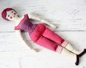 Vintage Carnival Doll