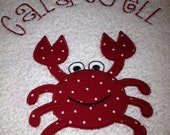 Pesonalized Bath/Beach Towel - You Pick Design, Color, and Personalization