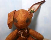 ON SALE - Brown Bunny with Sound