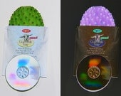 GOATS MILK soap and worn PNY cdr w/ birth control sugar pills in the center Cactus holder