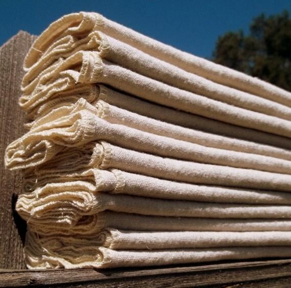 100% Cotton Flat -- Tri-Fold Diaper Insert