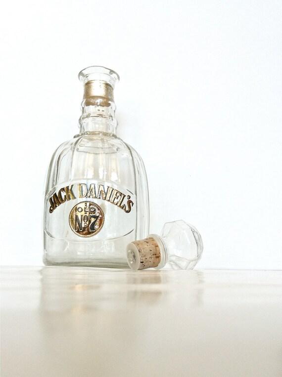 Jack Daniel's decanter bottle