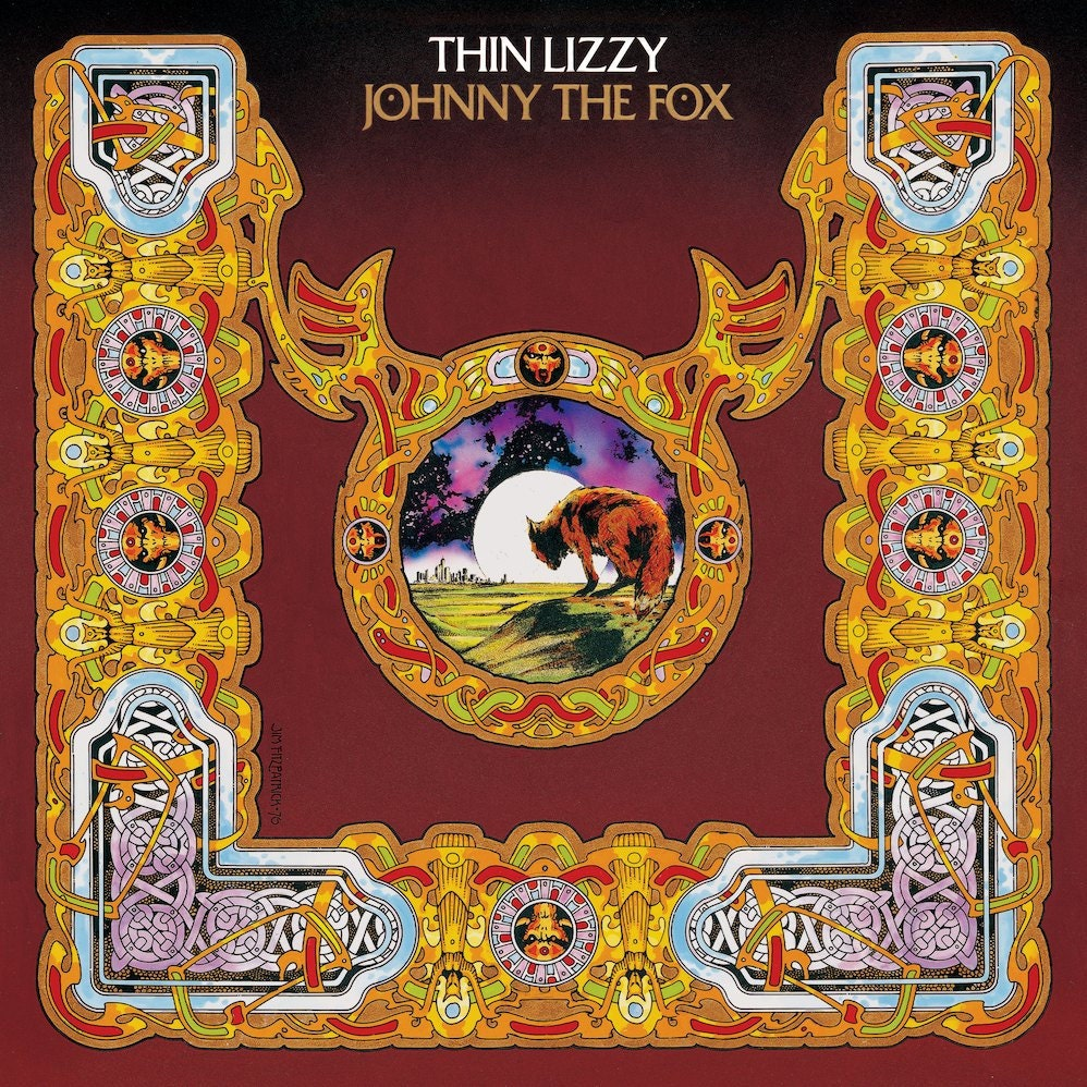 Thin Lizzy Johnny The Fox Album Cover Print 16 5 X