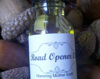 Road Opener Oil, Voodoo, Hoodoo,Ritual, Candle , Anointing, Alatr, Pagan, Conjure, Abre Camino