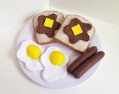 Deluxe Felt French Toast Breakfast Play Set