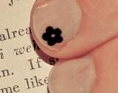 flower nail art, nail sticker, decal