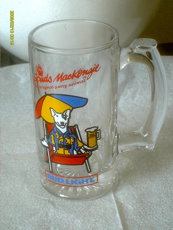 Vintage Bud Light Spuds Mackenzie Mug