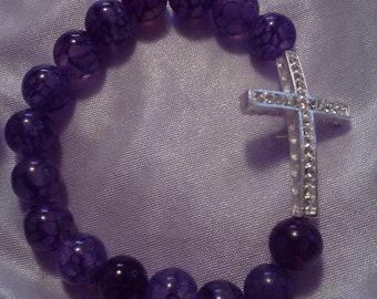 purple dragon cross