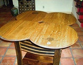 "Wine Barrel ""Entertainer"" Table"