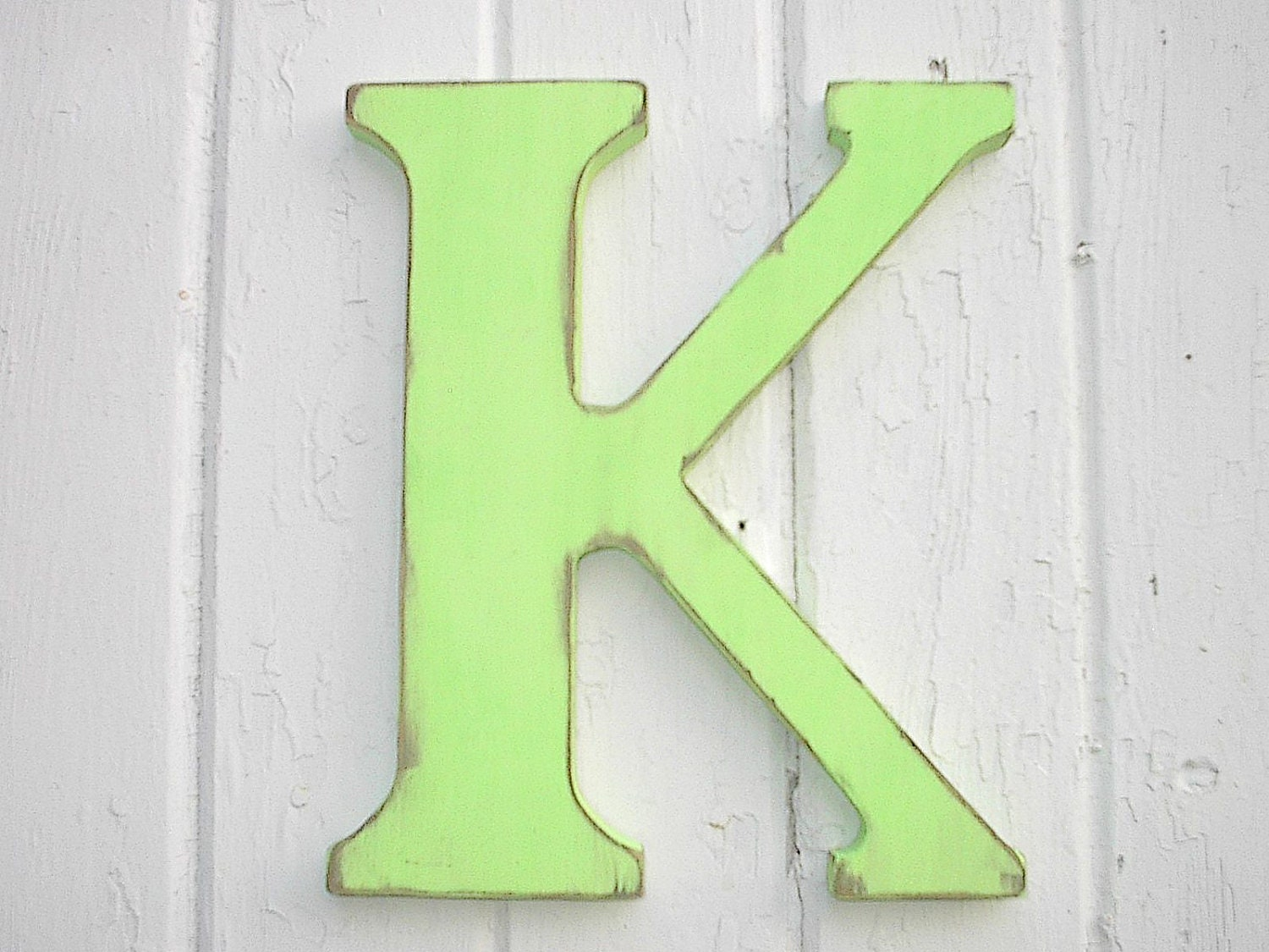 nursery letter k wooden 12 inch letters wall hanging home With wall letter k