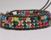 Multi-colored Bead Bracelet