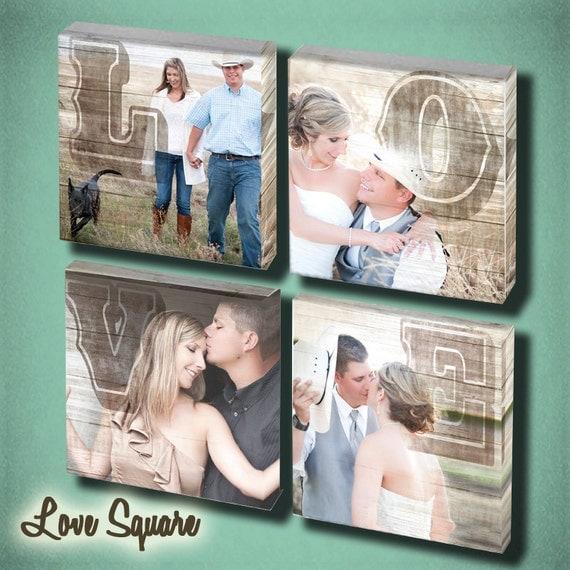 Wedding Love Wall Art set of 4