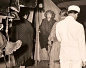 "Marlene Dietrich Vintage Hollywood Photograph on Set of ""The Spoilers"" 1942"