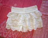 Layer lace Shorts
