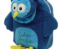 Personalized Laid Back Kids Cutie Hootie Owl Snuggle Backpack