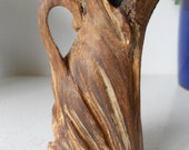 Twirled Pine Wood Vase
