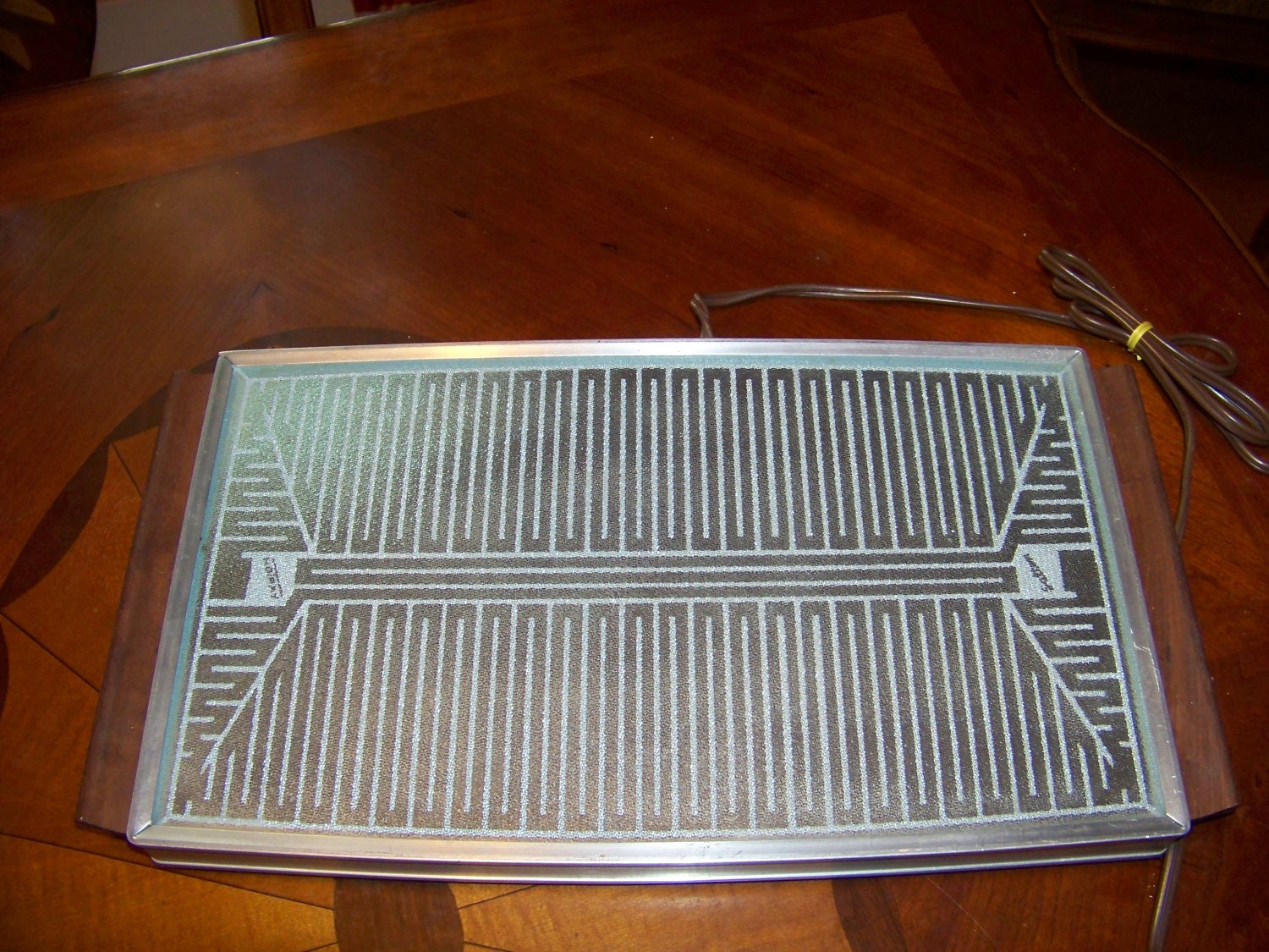 Large Food Warmer ~ Vintage food warmer holiday party large hot tray plate