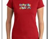 Small Cherry Red Women's Shirt