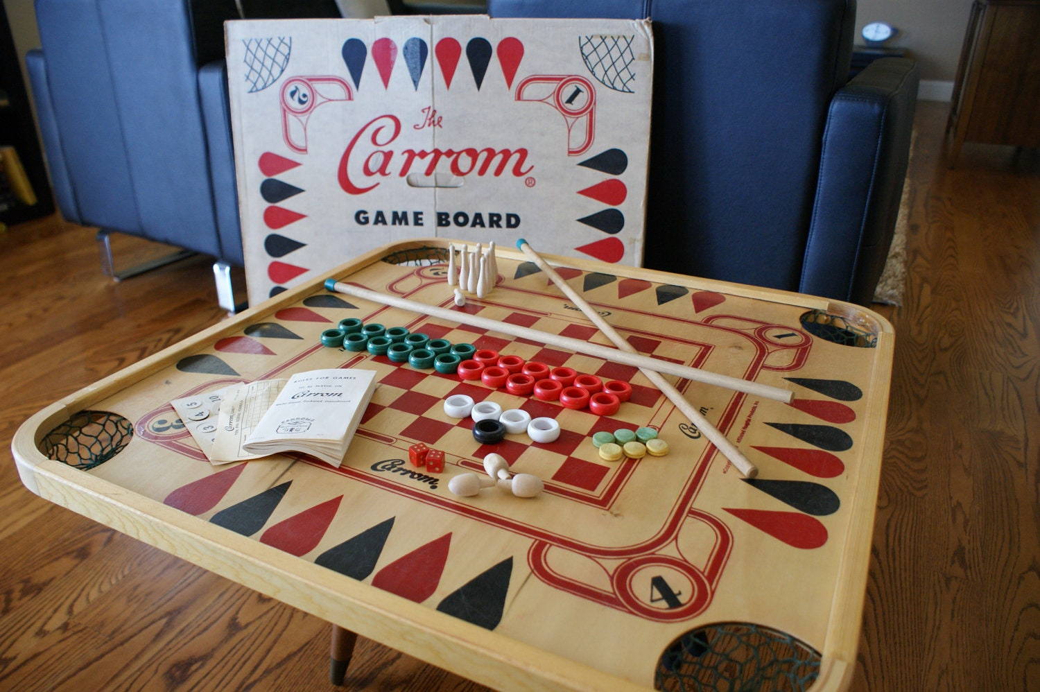 Board games from the 70s