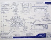 1961 McDonald's Restaurant Prototype Blueprint