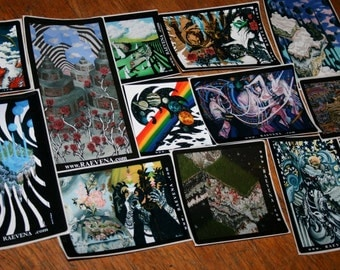 Vision Quest , sticker pack!  2012
