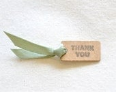 Plain Kraft Tags with your choice of twine x 20