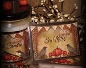 Fall Soy Clamshell Wax Melts