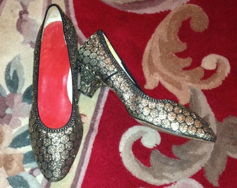 Vintage 1940s Slippers