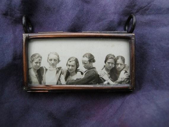 Double Sided Pendant Women Friendship Necklace