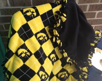 Items Similar To Iowa Hawkeye Quilt Kit On Etsy