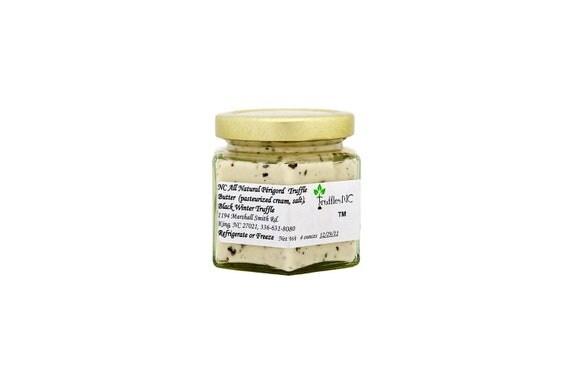 Black Winter Perigord Truffle Butter in 4 oz. glass jar