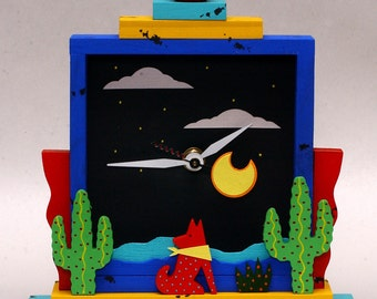 Southwest desert clock
