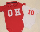Coordinating OH-IO onsies/shirts