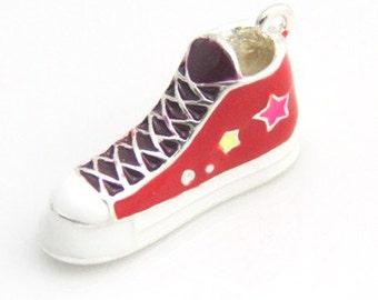 2 pcs of metal shoes-28x10x15mm 3D-1442-red