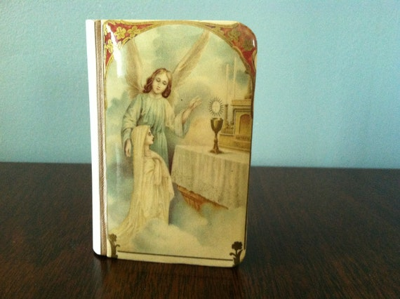 1923 Children's Catholic Prayer Book Bible