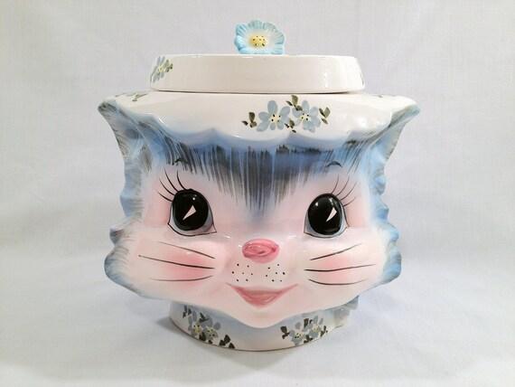 Vintage Lefton Miss Priss Cookie Jar