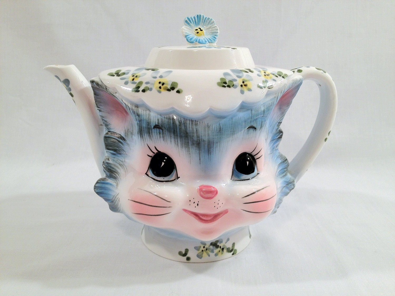 Vintage Lefton Miss Priss Tea Pot