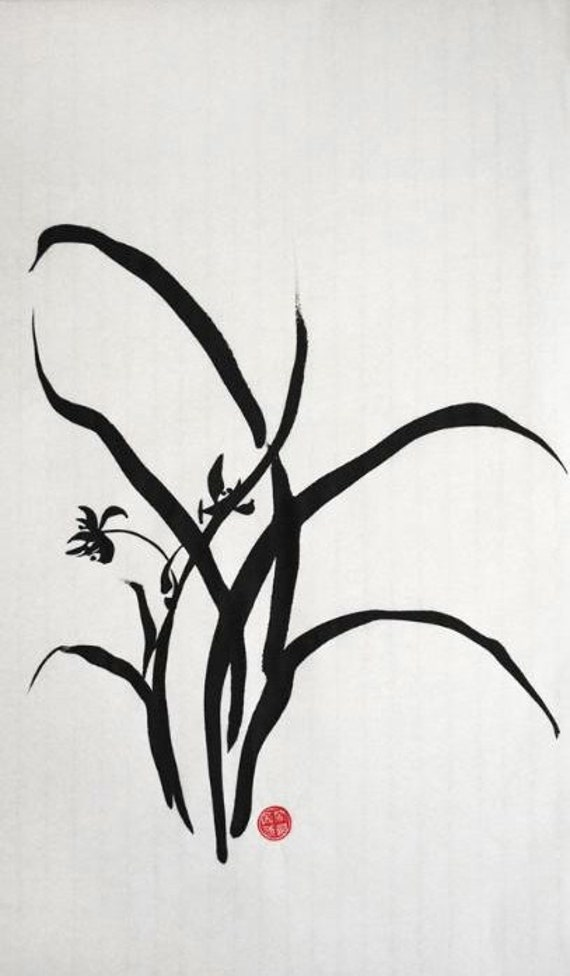 Chinese Calligraphy, Ink Painting, Japanese Painting, Simplicity 1 ...