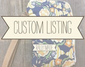 Custom Listing for katietelschow